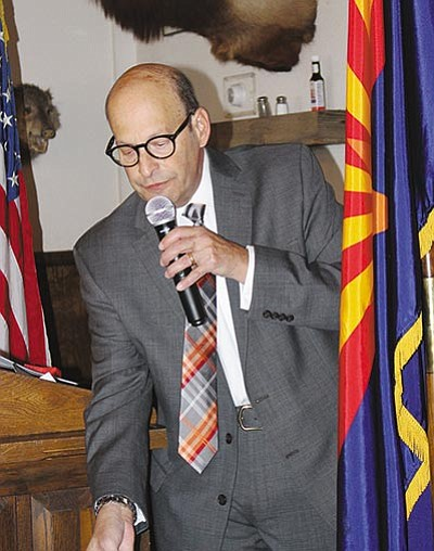 Dr. Laurence Schiff is headed to Cleveland as one of Mohave County's delegates to the Republican National Convention. (DOUG McMURDO/Miner)