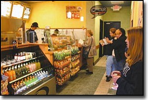 JC AMBERLYN/Miner<br> A Quiznos Sub has opened in downtown Kingman.