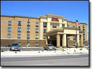 LORIN McLAIN/Miner<br> The Hampton Inn and Suites at 1791 Sycamore Ave. opened on April 12.