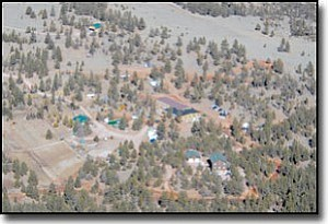 Courtesy<br> An aerial shot shows buildings on the reported FLDS compound in Custer County, S.D.