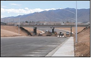 The Kingman Area Transportation Study predicts Airway Avenue to have the largest increase in traffic in the next two decades. The underpass was originally expected to open at the end of August but has been pushed back to the fall.