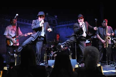 """Courtesy photo<br> """"Blues and Soul Explosion! Saluting the Music of the Blues Brothers,""""  begins at 7 p.m. Tickets: $22 to $25, available by calling the Elks Opera House box office at 777-1370 from 10 a.m. to 2 p.m. or logging onto www.elksoperahouse.com."""