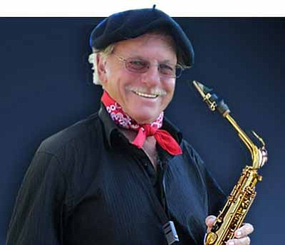 Courtesy photo<br> Legendary saxaphonist Richie Cole will perform during both days of the 15th annual Juneteenth Jazz Splash Festival at Arcosanti, June 15-16.