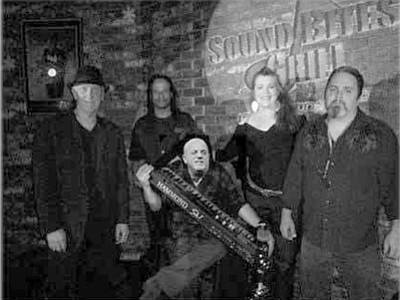 The J Powers band poses for a photo with none other than Billy Joel sitting in on keys. <br> Courtesy photo