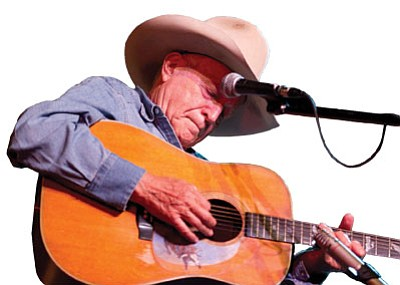 """Ramblin' Jack – a self-described """"cowboy singer, a folk singer, a balladeer"""" – will play the Prescott Center for the Arts on Tuesday, June 24, with cowboy poet and songwriter Gail Steiger.<br>   Courtesy photo"""