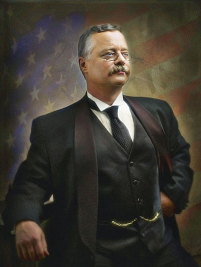 Joe Wiegand as Teddy Roosevelt<br> Courtesy photo