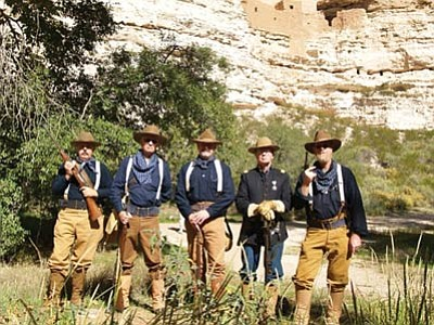 A living history presentation by the Arizona Rough Riders will be Saturday, Aug. 16, at Riordan Mansion State Historic Park. (Courtesy photo)