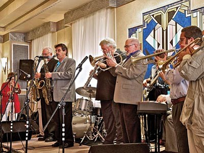 Jazz musicians perform at the Hassayampa Inn during the 2013 Prescott Jazz Summit in downtown Prescott. This year's events are this weekend. (Courtesy photo)