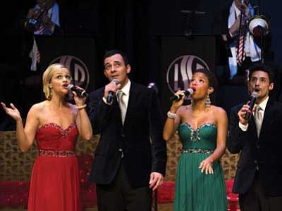 "Courtesy photo<br> ""A Swingin' Christmas"" will feature tunes made popular by Dean Martin, Bing Crosby, the Andrews Sisters, Andy Williams, and Nat King Cole."