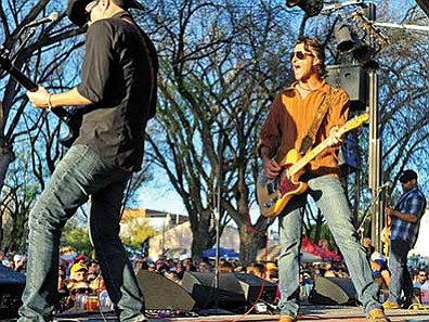 Daily Courier/file<br> Roger Clyne & the Peacemakers return this year to headline the entertainment.