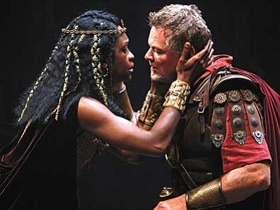 "Courtesy photo<br> The Stratford Festival's renowned new production of ""Antony and Cleopatra"" makes its Sedona big-screen debut on Sunday, June 7. The Sedona International Film Festival hosts the high-definition premiere from its home in Canada's prestigious festival. Geraint Wyn Davies and Yanna McIntosh star in the title roles."