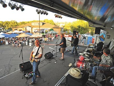 Doc Garvey's Remedy was one of the bands to perform during Prescott Area Young Professional's annual Party in the Pines last year. The 2015 installment, which is Saturday, June 6, will feature The Crosseyed Possums and headliner Deep Soul Radio. (Matt Hinshaw/The Daily Courier, file photo)