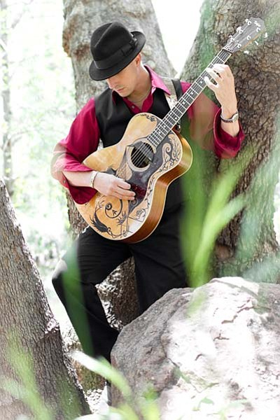 Guitar Wizard Anthony Mazzella will be performing at the beautiful Mary Fisher Theater for the first time on Saturday, June 13 at 7 p.m. Photographer extraordinaire Ted Grussing will be projecting his original fine art photography as a backdrop.