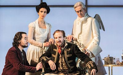 "The National Theatre of London continues its season with ""Man and Superman"" — starring Oscar-nominee Ralph Fiennes — showing in Sedona on Sunday, June 14, at the Mary D. Fisher Theatre. (Courtesy photo)"