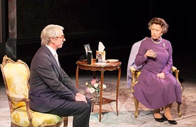 """Helen Mirren reprises her Academy Award-winning role as Queen Elizabeth II in the West End production of """"The Audience"""". These encore screenings of the original West End production of """"The Audience"""" — captured live in London — feature an exclusive Q&A with Mirren and director Stephen Daldry.  (Courtesy photo)"""