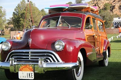 From Model T's and Volkswagens to motorcycles and rat rods - even Woodie wagons - will be on display at the Prescott Antique Auto Club's show and sale, at Watson Lake, Aug. 1-2. (Courtesy photo)