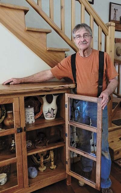 September's Guest Artist of the Month at the Arts Prescott Cooperative Gallery is Butch Corrington, who will show off his custom handcrafted mesquite furniture. (Courtesy photo)