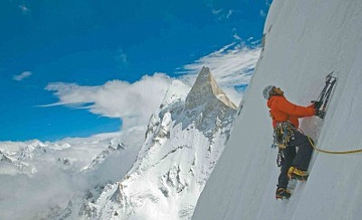 "Three renowned climbers navigate nature's harshest elements and their own complicated inner demons to ascend Mount Meru, the most technically complicated and dangerous peak in the Himalayas in the critically-acclaimed winner of the Audience Choice Award for Best Documentary at Sundance ""Meru""."