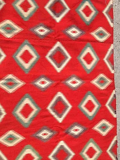 A Germantown rug up for auction. <br /><br /><!-- 1upcrlf2 -->(courtesy photo/Cindy Gresser)