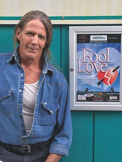 """Paul Epoch is the director of Stage Too's """"Fool for Love."""" (Jason Wheeler/Daily Courier)"""