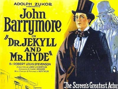 "The Prescott Film Festival is showing ""Dr. Jekyll and Mr. Hyde,"" the 1920 silent film starring John Barrymore, Saturday night with live musical accompaniment from Jonathan Best."
