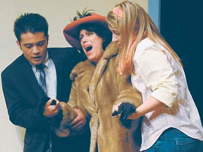 "A scene from ""Barefoot in the Park"" at the Prescott Center for the Arts Main Stage. (Les Stukenberg/The Daily Courier)"