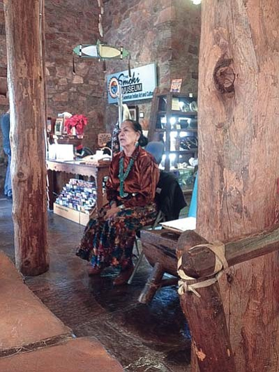 Nanabah Aragon is one of the storytellers participating in the Smoki Museum's annual Storytellers at the Smoki event. (Courtesy/Cindy Gresser)