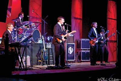 "It's a tribute to the classic British Rock bands with Lonely Street Productions' ""British Invasion"" on Saturday, Feb. 13, at 7 p.m. (Courtesy photo)"