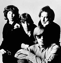The Associated Press<br>Members of The Doors, from left to right, Jim Morrison, John Densmore, Robby Krieger and Ray Manzarek are featured in an undated photo. Outgoing Florida Gov. Charlie Crist Crist told the St. Petersburg Times Tuesday he is looking to pardoning the long-dead rocker Jim Morrison who was convicted of exposing himself at a raucous 1969 concert in Miami.