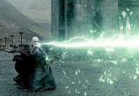 "Courtesy photo<br> Lord Voldemort (Ralph Fiennes) brings the pain in ""Harry Potter and the Deathly Hallows, Part 2."""