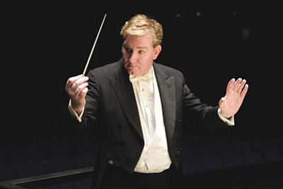 Courtesy photo<br /><br /><!-- 1upcrlf2 -->Alasdair Neale will conduct the Phoenix Symphony at the Yavapai College Performance Hall on Sunday, April 22.<br /><br /><!-- 1upcrlf2 -->