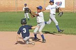 Photos by Jeff Pope The rosters are set for the Little League All Stars. The final games of the regular season were played Friday. The Minor Boys1 Dodgers and Braves (above) took the field June 17 and the Major Girls1 Sun Devils and Golden Bears faced each other on June 18 (below) during the regular season.
