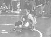 <i>Photo by Sandra Vasquez</i> <b>Anthony Guzman took fourth place at the freshman wrestling state tourney last week in Cottonwood.</b>