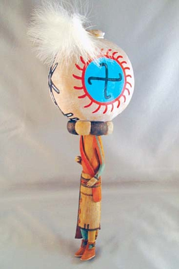 <i>HEEF courtesy photo</i><br> Rattle (Aya) Katsina Doll donated by Aaron J. Fredericks for the sixth annual HEEF Silent Auction.