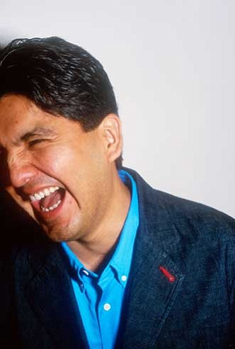 "Sherman Alexie will present ""Without Reservations: An Urban Indian's Comic, Poetic & Highly Irreverent Look at the World"" at Northern Arizona University on Feb. 24 at 7 p.m. in Ardrey Auditorium."