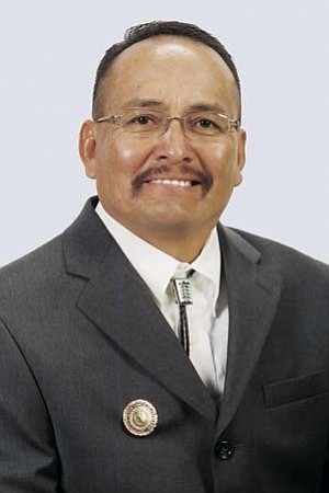 <i>Courtesy photo</i><br> Navajo Nation Council Delegate Leonard Chee was recently elected treasurer of the American Indian Gaming Association (AIGA).