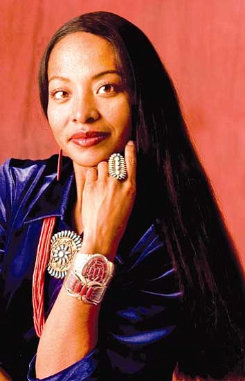 Radmilla Cody, former Miss Navajo Nation and a survivor of domestic violence.
