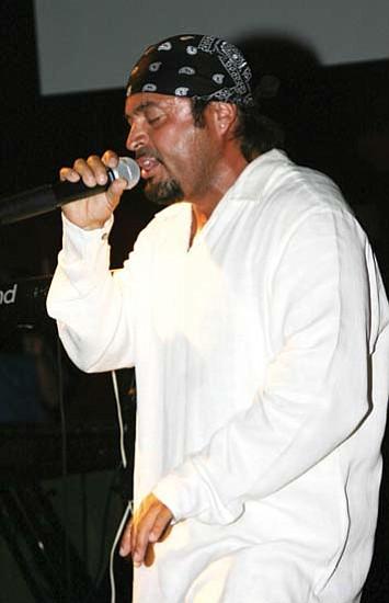 Hopi reggae singer Casper Lomadawa