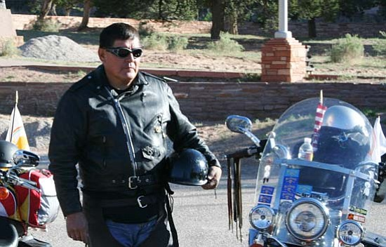 <i>Photo by Christian Bigwater</i><br> Navajo Nation Council Delegate LoRenzo C. Bates.