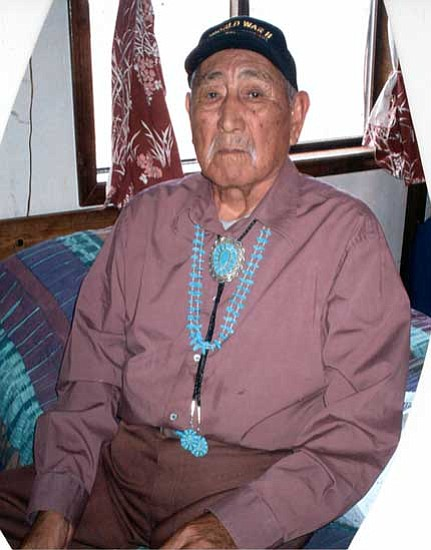 <i>Courtesy photo</i><br> Navajo Code Talker Willie K. Begay.