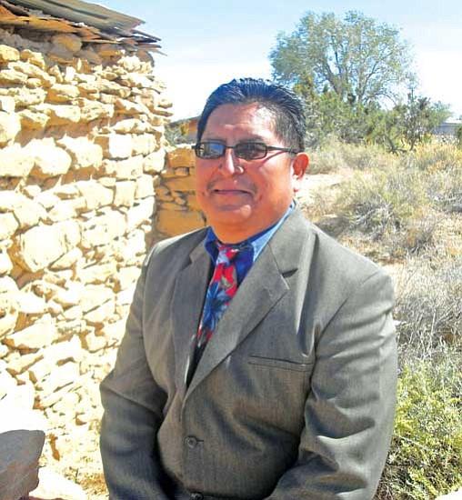 Clark Tenakhongva, candidate for Hopi Chairman.
