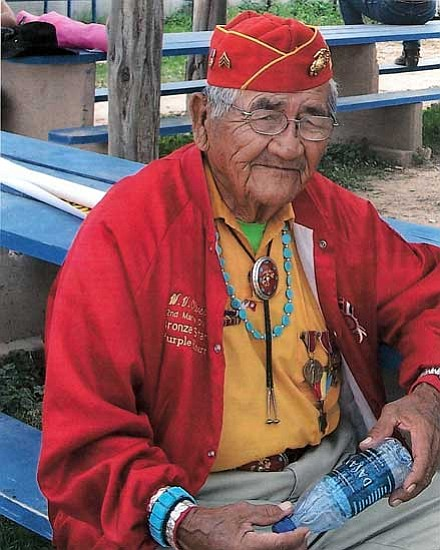 <i>Courtesy photo</i><br> Navajo Code Talker Willard Varnell Oliver.