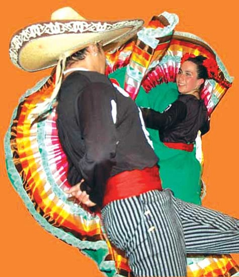 <i>Photo by Michele Mountain/MNA</i><br> Ballet Folklorico de Colores.