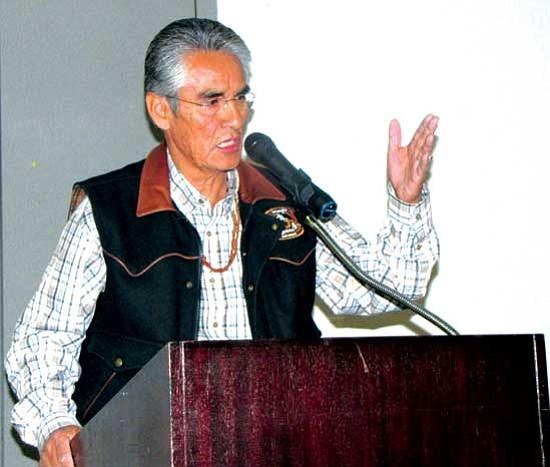 Navajo Nation President Joe Shirley Jr.