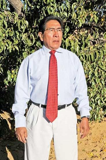 Herman Honanie, newly elected Hopi Vice Chairman. Honanie will be sworn into office Tuesday, Dec. 1 along with newly elected Hopi Tribal Chairman Leroy Shingoitewa.