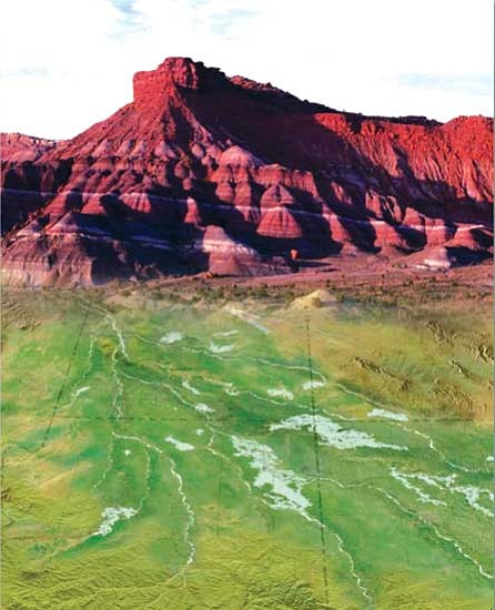 Mna Exhibit Shows Ordinary Rock Revealing Ancient Landscapes