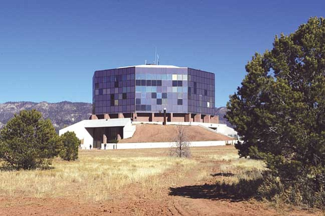 <i>Courtesy photo</i><br> The Ned Hatathli Center, located on the Diné College main campus in Tsaile features a museum with many Native American exhibits as well as authentic Navajo arts and crafts.