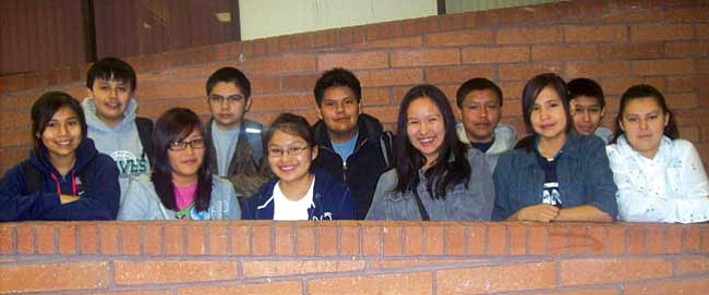 <b>B Honor Roll</b><br> First row (left to right): Shundeen Yazzie, Maylin Natonie, Idallis Riggs, Bobbie Benally, Danica Manygoats and Senneca Johnson. <br>Second row: Stonn Billy, Chance DuPuy, Leo Butler, Tyus Eltsosie and Trueston Bennett. <br>Not pictured: Cenovia Dayzie, Mariah Duran, McKinsey Graymountain, Byron Harvey, Nicholas Jackson, Allen Joe, Timmetha Johnson, Mariah Laughter, Melonie Nez, Bryan Robbins, Kiana Sakiestewa, Tallethea Tallsalt and Gary Werito Jr.