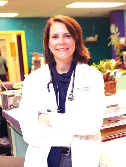 <i>Courtesy photo</i><br> Pediatrician Alice Berger, M.D., Flagstaff Medical Center's 2010 Physician of the Year.