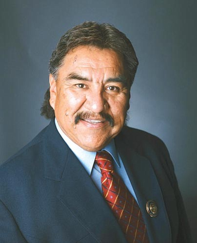Navajo Nation Council Speaker Lawrence T. Morgan.